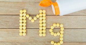 """""""Mg"""" written in pills"""