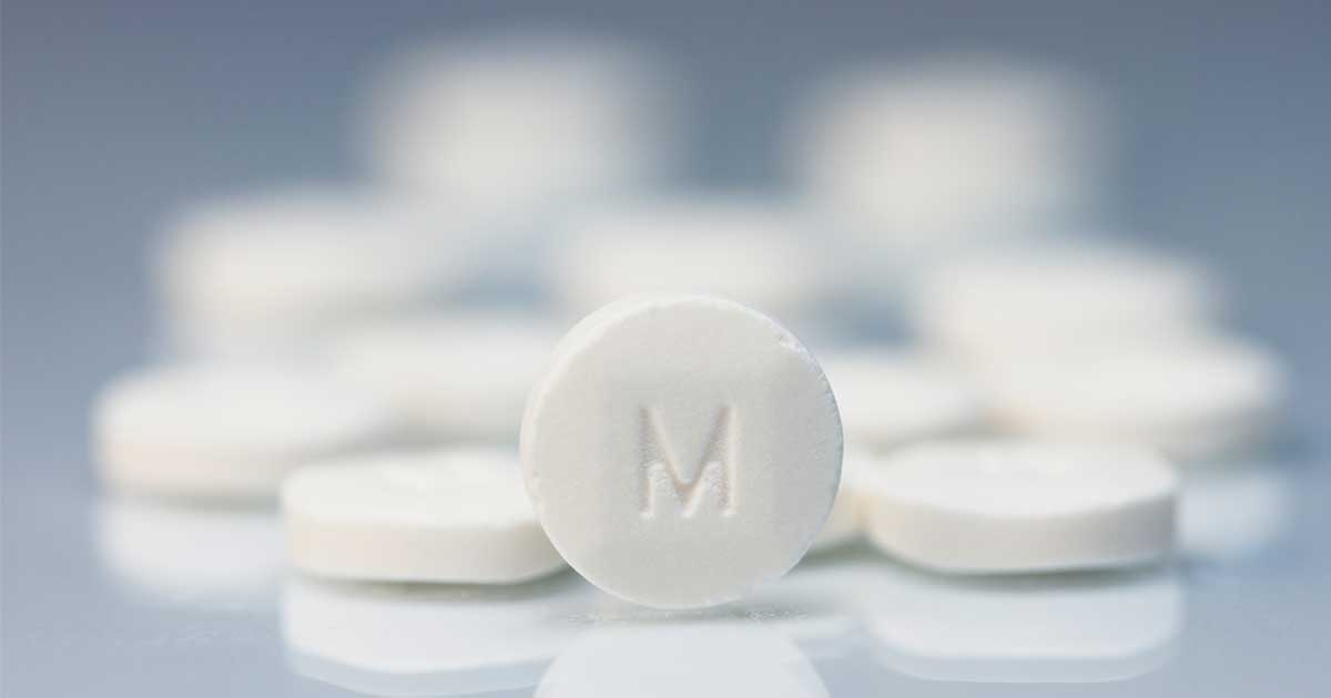 Methylphenidate pills, a medication used to treat ADHD